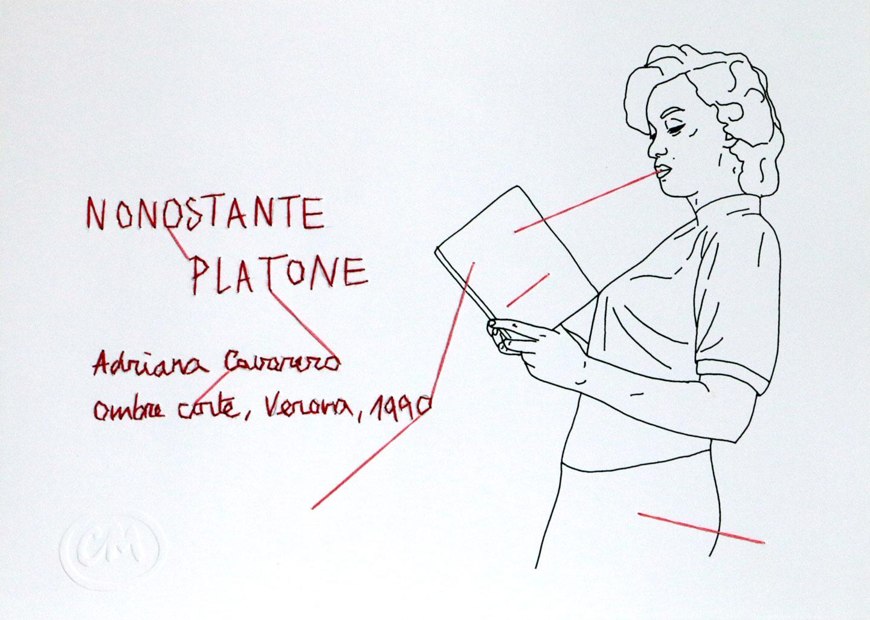 Coquelicot Mafille, Nonostante Platone, 2016